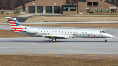 A picture of N635AE - Embraer ERJ145LR - American Airlines - © Guy Langlois