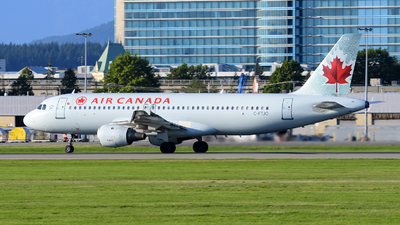 A picture of CFTJO - Airbus A320211 - Air Canada - © AN888