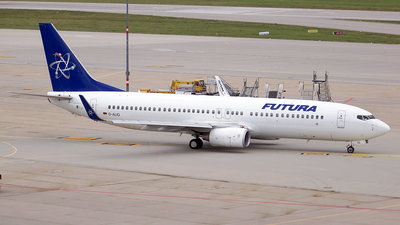 D-ALIG - Boeing 737-86N - Futura International Airways (Cirrus Airlines)