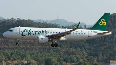 A picture of B8590 - Airbus A320214 - Spring Airlines - © xuhaoqing995