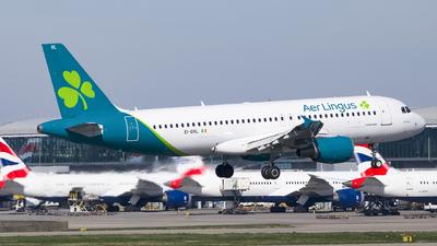 A picture of EIDVL - Airbus A320214 - Aer Lingus - © Ervin Eslami (uk.jets)