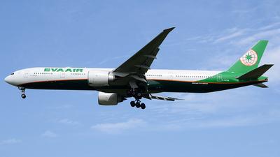 B-16729 - Boeing 777-36NER - Eva Air