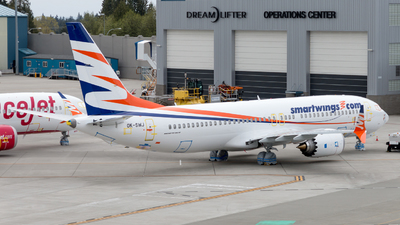 OK-SWJ - Boeing 737-8 MAX - SmartWings