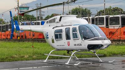 HK-4928 - Bell 206L-1 LongRanger - AVE (Aviación Especializada)