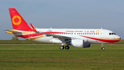 A picture of DAVWE - Airbus A319 - Airbus - © Perry Hoppe