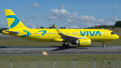 A picture of HK5352 - Airbus A320251N - Viva Air - © Jorge Saenz