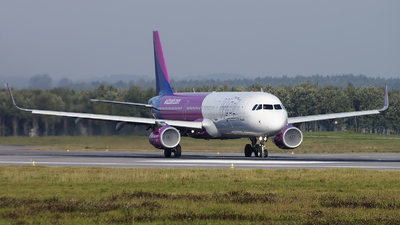 HA-LXF - Airbus A321-231 - Wizz Air