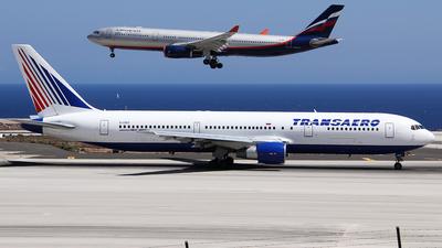 EI-DBG - Boeing 767-3Q8(ER) - Transaero Airlines