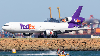 A picture of N607FE - McDonnell Douglas MD11F - FedEx - © Mark B Imagery