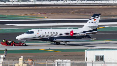 N550LV - Cessna Citation Latitude - Private