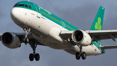 A picture of EIGAM - Airbus A320214 - Aer Lingus - © Robert Smith
