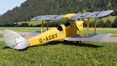 G-AOBX - De Havilland DH-82A Tiger Moth - Private