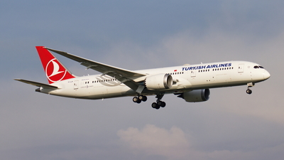 A picture of TCLLK - Boeing 7879 Dreamliner - Turkish Airlines - © TY-CHEN