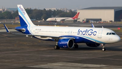 A picture of VTIJE - Airbus A320271N - IndiGo - © Aneesh Bapaye