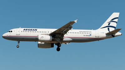SX-DVH - Airbus A320-232 - Aegean Airlines