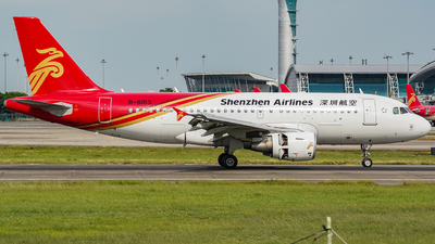 A picture of B6153 - Airbus A319115 - Shenzhen Airlines - © KEVIN LIN