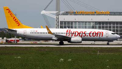 TC-CCP - Boeing 737-86J - Pegasus Airlines