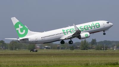 A picture of PHHSJ - Boeing 7378K2 - Transavia - © Freek Blokzijl