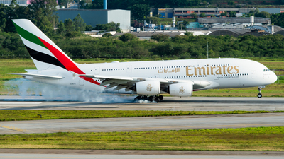 A6-EVE - Airbus A380-842 - Emirates