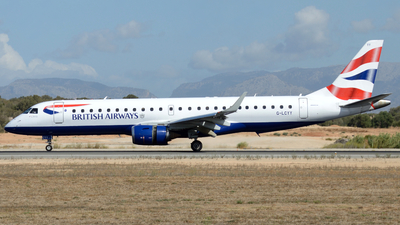 G-LCYY - Embraer 190-100SR - BA CityFlyer
