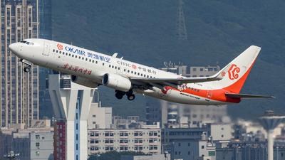 B-1338 - Boeing 737-8KF - OK Air