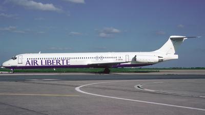 F-GPZA - McDonnell Douglas MD-83 - Air Liberté