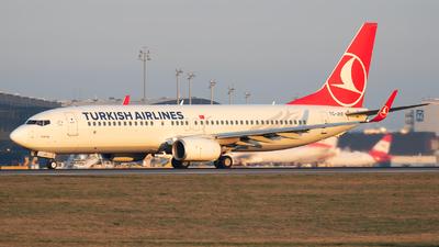 TC-JVE - Boeing 737-8F2 - Turkish Airlines