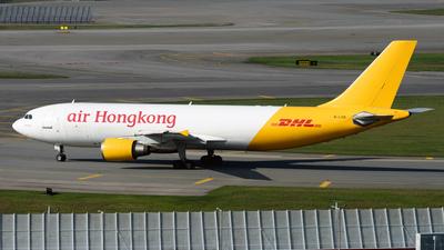 A picture of BLDB - Airbus A300F4605R - Air Hong Kong - © Alvin Ho - AHKGAP