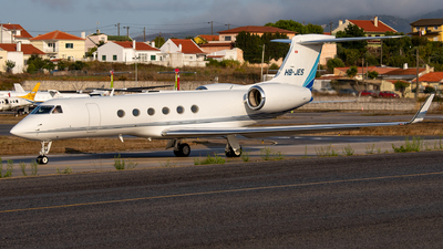 A picture of HBJES - Gulfstream V - [556] - © Thomas A. Ferreira