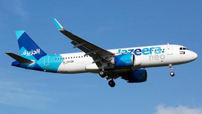 9K-CBD - Airbus A320-251N - Jazeera Airways