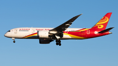 A picture of B2729 - Boeing 7878 Dreamliner - Hainan Airlines - © Lazy Clutch