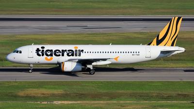 9V-TAR - Airbus A320-232 - Tigerair