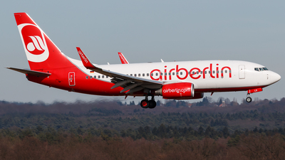 D-ABLD - Boeing 737-76J - Air Berlin