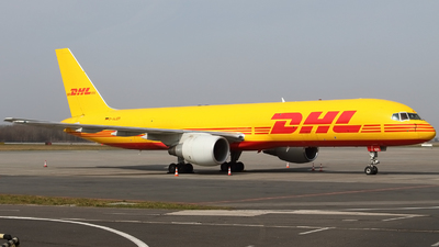A picture of DALER - Boeing 7572Q8(PCF) - DHL - © Pawel Cieplak