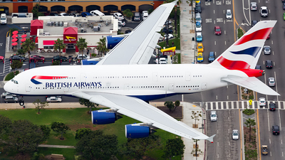 G-XLEE - Airbus A380-841 - British Airways