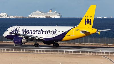 G-OZBW - Airbus A320-214 - Monarch Airlines