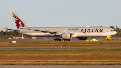 A7-BAN - Boeing 777-3DZER - Qatar Airways