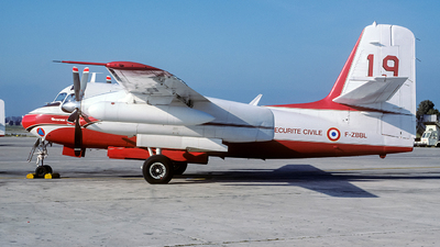 F-ZBBL - Conair S-2 Turbo Firecat - France - Sécurité Civile