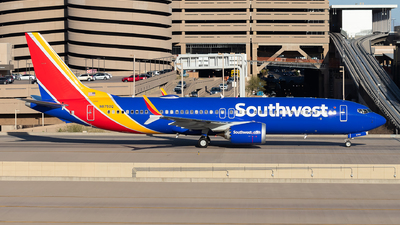 N8750Q - Boeing 737-8 MAX - Southwest Airlines