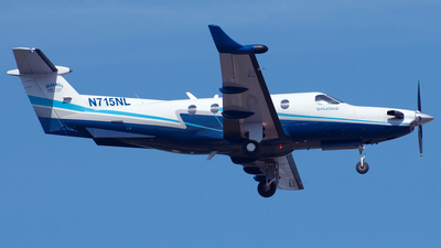 N715NL - Pilatus PC-12/45 - Private