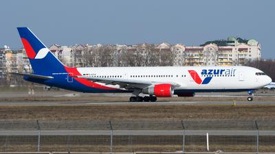 A picture of DAZUB - Boeing 76737E(ER) - [25077] - © Chris Jilli