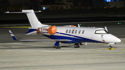 C-FEMF - Bombardier Learjet 40 - Fox Flight