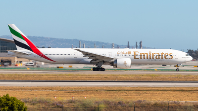 A picture of A6EGQ - Boeing 77731H(ER) - Emirates - © Brandon Ravelo