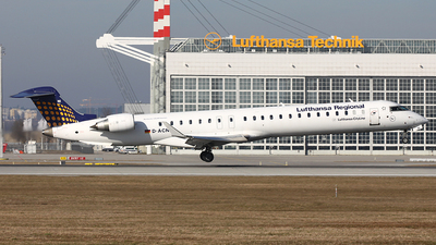 A picture of DACNI - Mitsubishi CRJ900LR - Lufthansa - © Heidi Wanninger