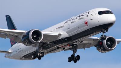 C-FVLX - Boeing 787-9 Dreamliner - Air Canada