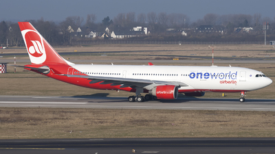 D-ABXA - Airbus A330-223 - Air Berlin