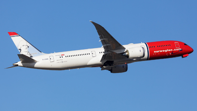 A picture of GCKWA - Boeing 7879 Dreamliner - Norwegian - © SlowhanD