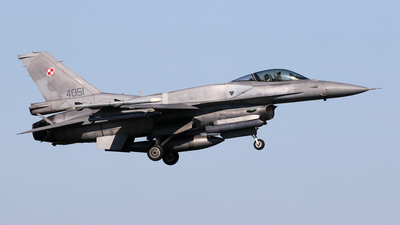 4051 - Lockheed Martin F-16C Fighting Falcon - Poland - Air Force