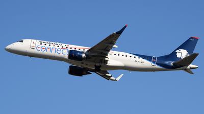 XA-ALU - Embraer 190-100LR - Aeroméxico Connect