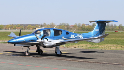 OK-IMC - Diamond Aircraft DA-62 - Nisa Air